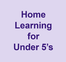 Home learning for under 5's