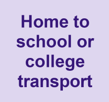 Home to school or college transport
