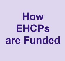 How EHCPs are funded