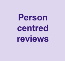 Person centred reviews video