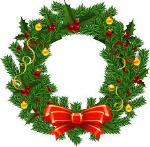 Picture of Christmas Wreath.