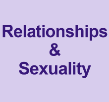 Relationships and sexuality