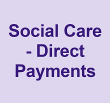 Social care direct payments