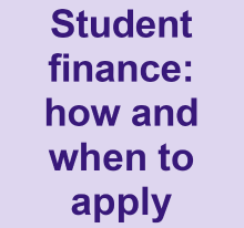Student finance how and when to apply