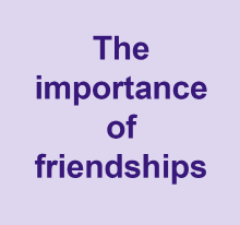 The importance of friendships video
