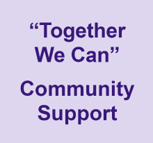 Together we can - community support