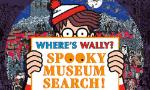 Where's Wally Spooky Museum Search Poster