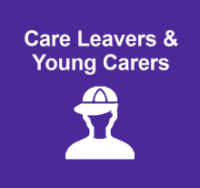 Care leavers and young carers