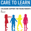 Childcare support for young parents