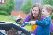 Gardening at the MERL