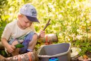 Mud kitchen at The MERL