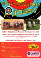 Active Retirement Archery Flyer