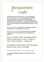 Bereavement Cafe ~ St Barnabas