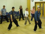 A typical Berkshire Tai Chi class