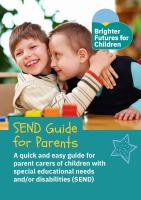 SEND Guide for Parent Carers - June 2021