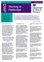 DWP Working in Redbridge Newsletter