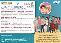 Online Parenting Course Flyer Front