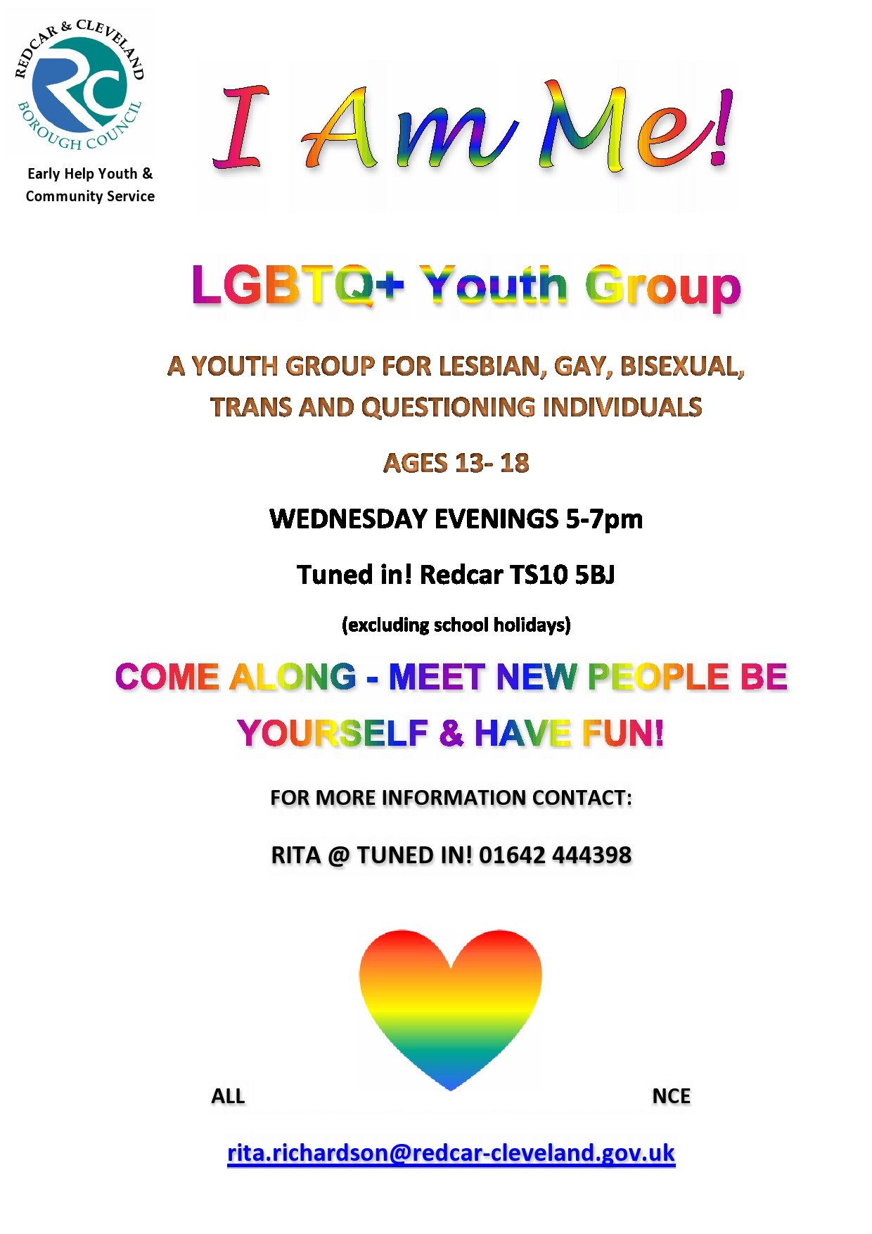 People's Information Network | I Am Me! LGBTQ+ Youth Group