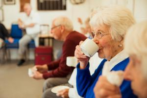 elderly people in the community