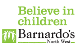 Image of Believe in children Barnardos logo