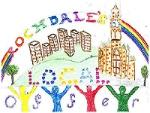 A colourful picture of children looking at Rochdale Town Hall with text saying Rochdale Local Offer