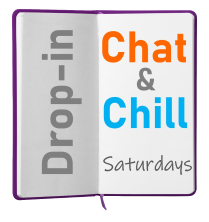 Chat and Chill logo [Oakham Library]