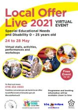 Local offer live event flyer