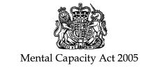 The Mental Capacity Act logo