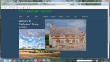 Picture of the group's website