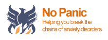 Picture of the No Panic logo