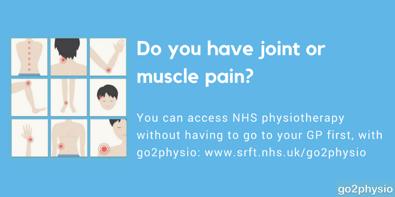 Do you have joint or muscle pain?