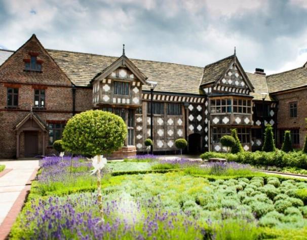 Ordsall Hall gardens