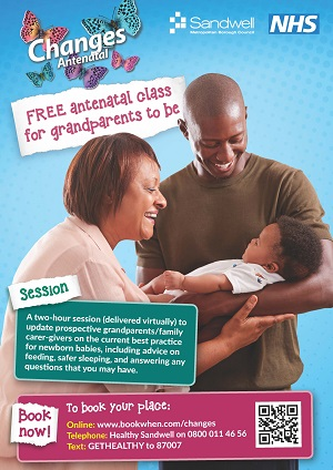 Grandparents to be antenatal session