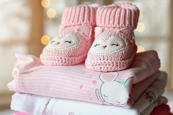 pink bootees