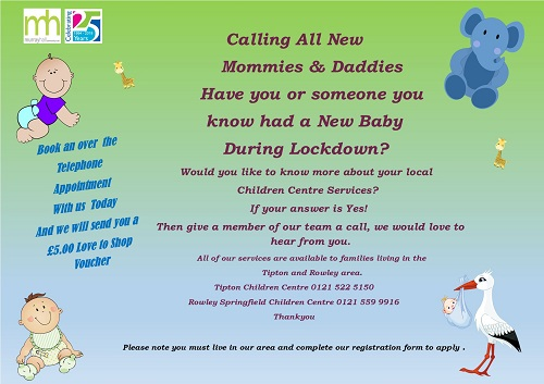 new babies group