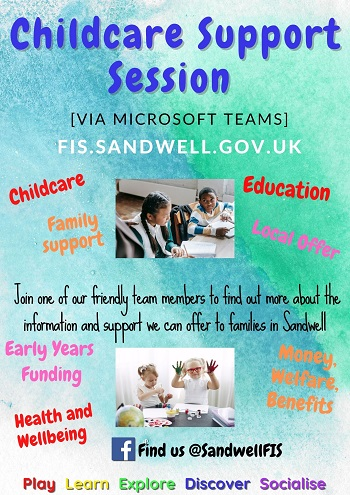 childcare support session