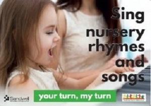 sing nursery rhymes