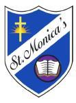 St. Monica's Catholic Primary School Logo
