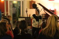 One of our recording sessions at Old Pig Farm
