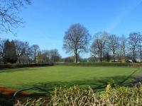High Hazels Park bowling green.