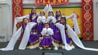 Folk dancing performed in Chinese New Year Celebration