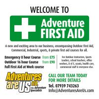 Adventure First Aid Courses on offer