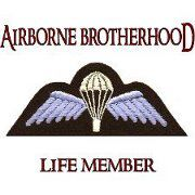 Airborne Blue Badge of Courage - Wings