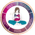 5 elements birth logo