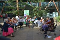 SVE performing at the Classical Weekend 2019, in the Winter Gardens