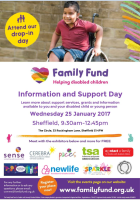Family Fund Information and Support Day Leaflet