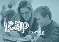 Leap Tutoring tutor and child