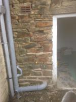 Stone Pointing Before
