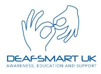 Deaf Smart logo