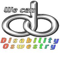 Disability Oswestry logo